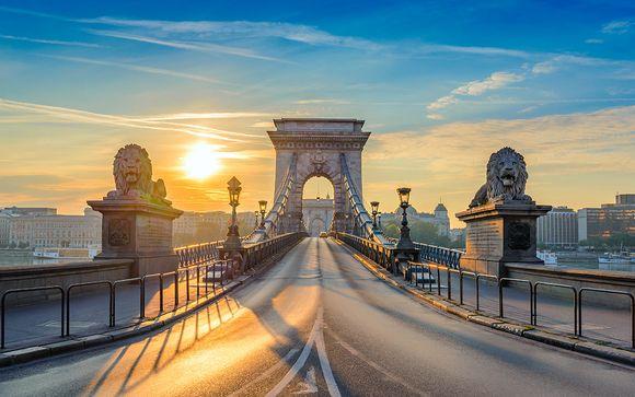 Encanto en el centro de la Perla del Danubio