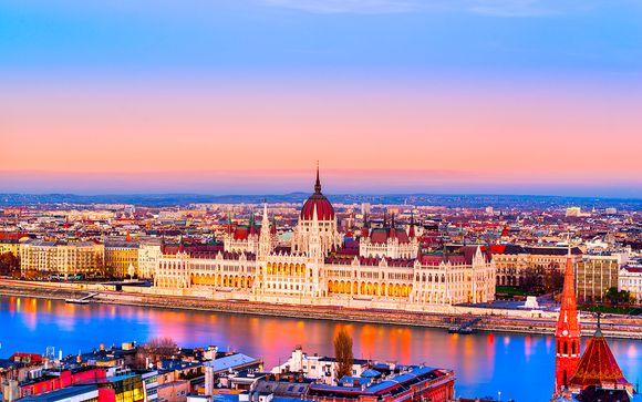 Hungría Budapest - Boutique Hotel Budapest 4* desde 52,00 €