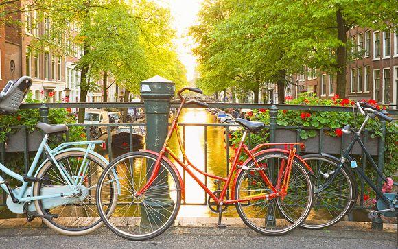 Habitación Luxury Grand en el centro de Ámsterdam