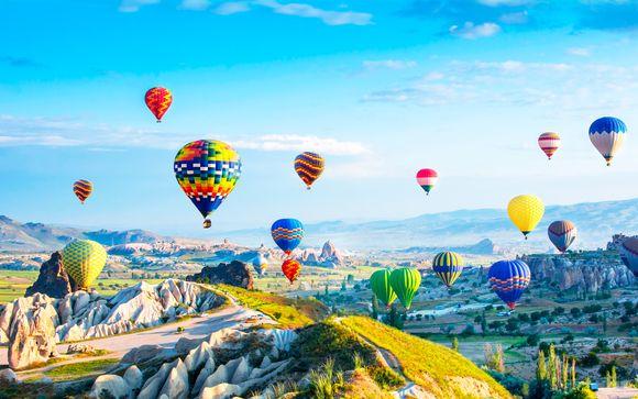 Maravillas de Turquía con Capadocia y Troya
