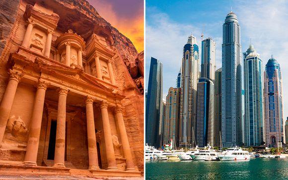 Combinado Jordania y Dubái