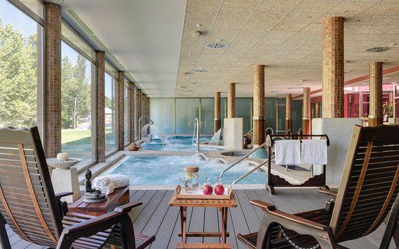 Romántico hotel de lujo con acceso a spa y Forfait opcional