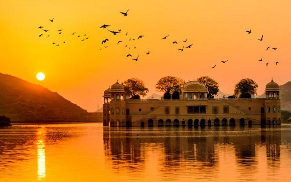 Triángulo Dorado con Mandawa y Varanasi