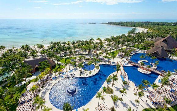 Todo incluido en el Caribe Mexicano con vuelos