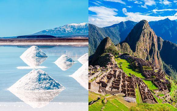 Ciudades coloniales, desierto blanco y tesoros incas con vuelos