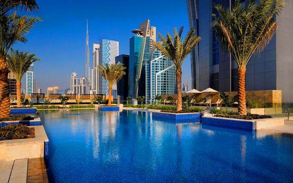 Lujosa Suite y vuelos con Emirates
