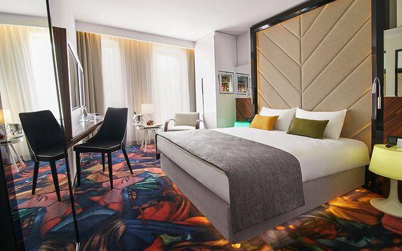 Polonia Cracovia - INX Design Hotel 4* desde 73,00 €