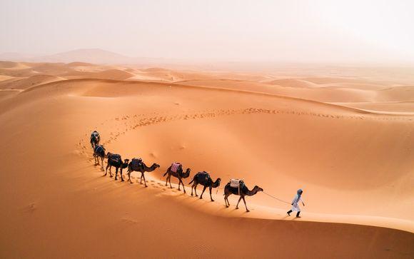Circuito por la cordillera del Atlas y desierto del Sahara