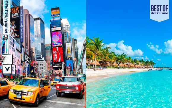 México Riviera Maya - AC Marriott NY Times Square y Barceló Maya Grand 5* desde 1.111,00 €