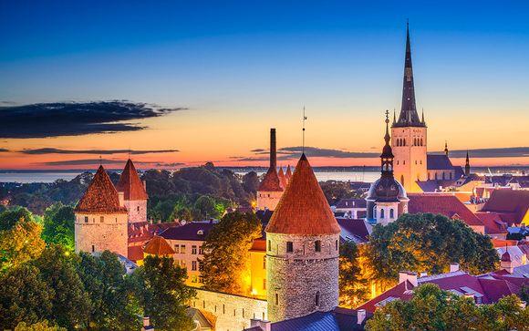 Las 4 Perlas del Báltico con 1 o 3 noches en Estocolmo