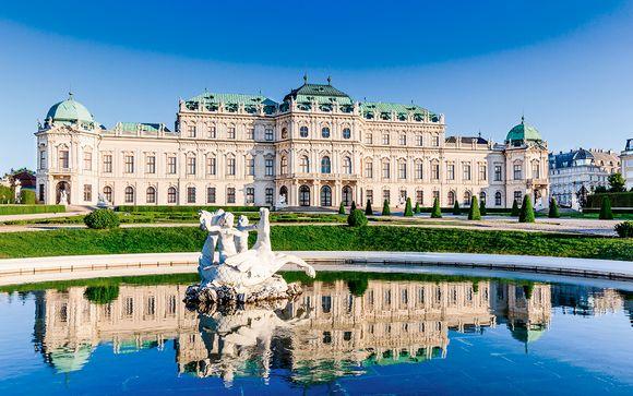 Estilo contemporáneo junto al Palacio Belvedere