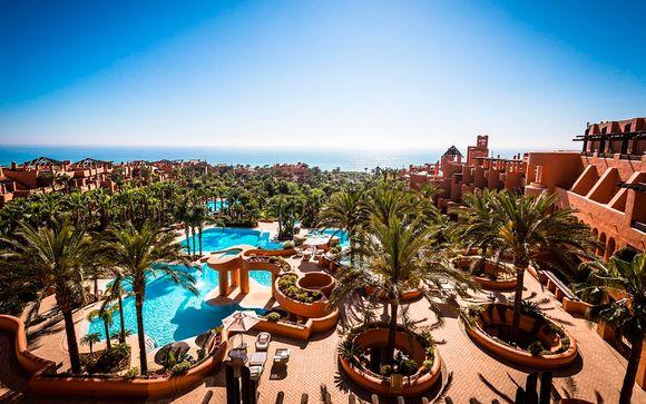Espectacular resort de lujo con acceso a spa