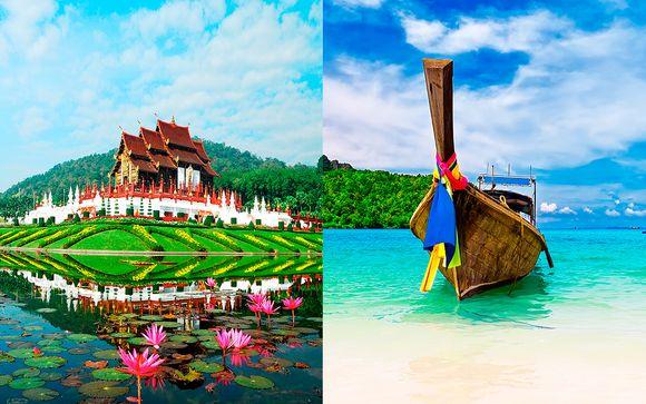 X2 Chiang Mai Riverside 5*, Century Park 4* y Metadee Resort 5*