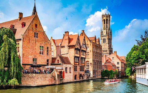 Bélgica Brujas - Hotel Prinsenhof 4* desde 93,00 €
