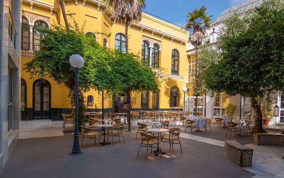 Ambiente exquisito en el centro histórico