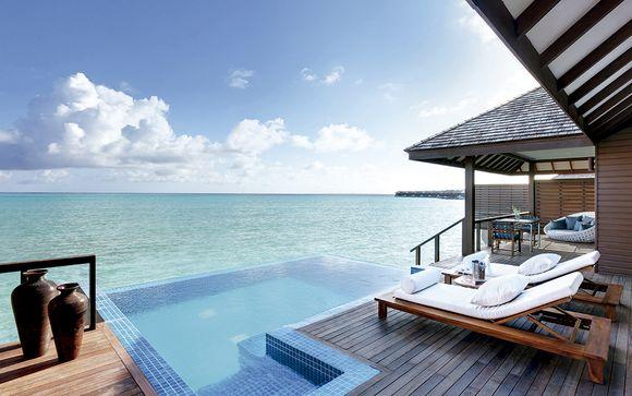 Lujo y romanticismo en el paraíso con piscina privada