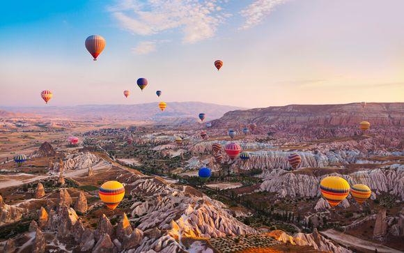 Turquía Estambul - Capadocia mágica con Misa Hotel desde 760,00 €