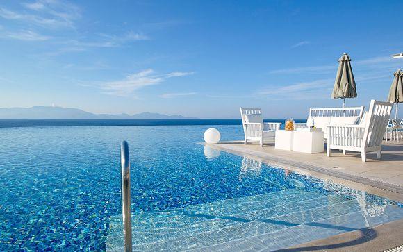 Lujo con vistas privilegiadas al mar Egeo