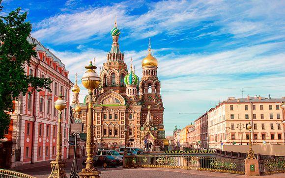 Itinerario 10 noches - Salidas en grupo desde San Petersburgo hacia Moscú
