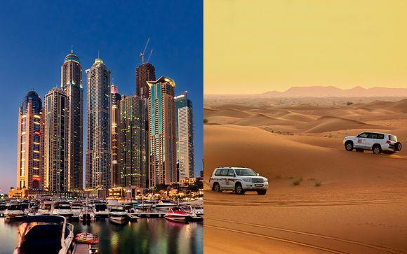 Fantástica estancia con safari por el desierto, crucero... ¡y más!