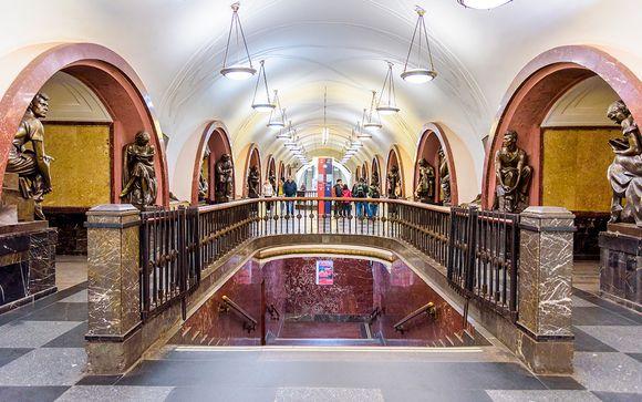 Opción 2: Itinerario desde San Petersburgo (17 noches)