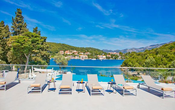 Port 9 Island Resort 4*, en Korcula