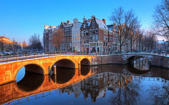 Ámsterdam, en Países Bajos, te espera