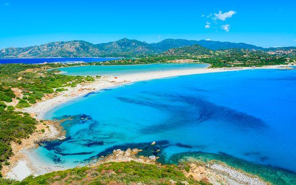Joya del sur con playa privada y media pensión