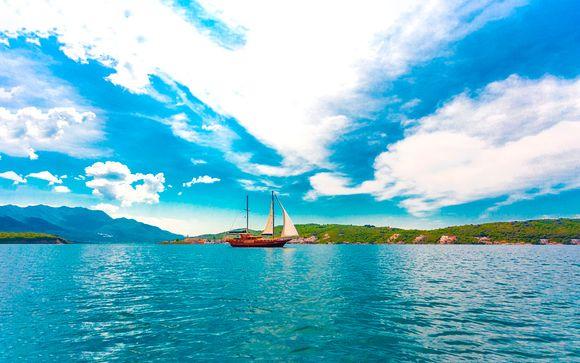Crucero en goleta por Montenegro y Croacia