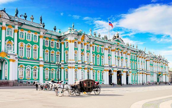 Circuito por los tesoros de la majestuosa ciudad rusa