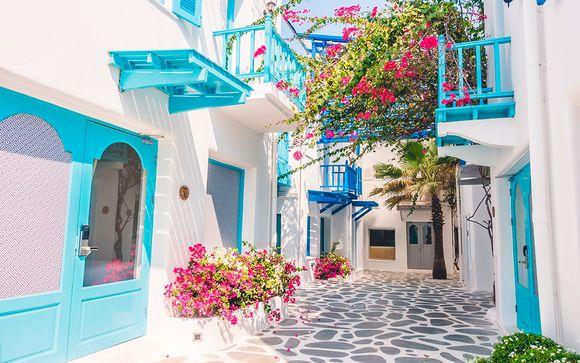 Itinerario Santorini - Mykonos de 6 u 8 noches (opción 1)
