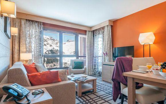 Apartamento Superior de 2 habitaciones para máximo 6 personas