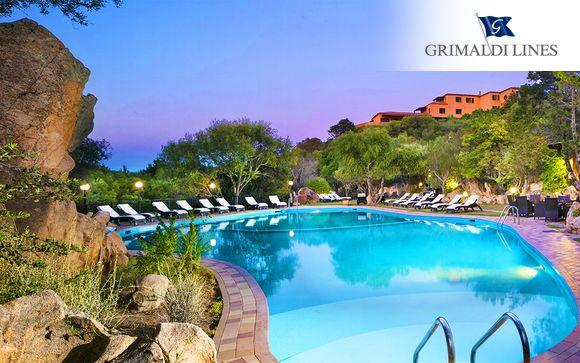 Italia San Pantaleo - Hotel Rocce Sarde 4* desde 130,00 €