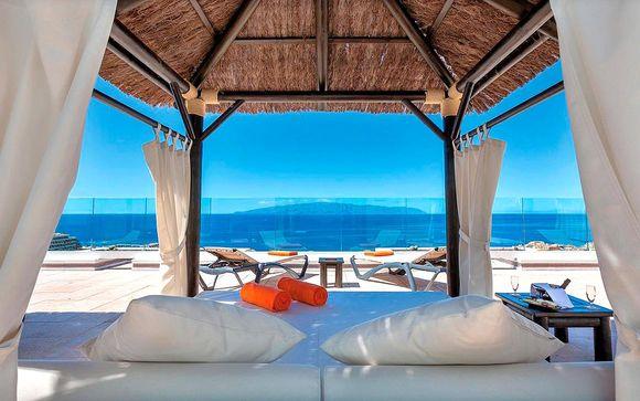 Suite con vistas al mar con todo incluido