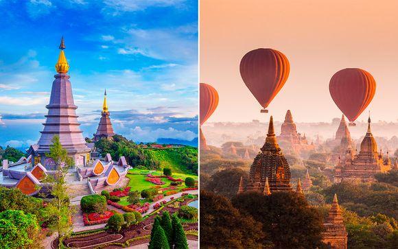 Tailandia y Birmania