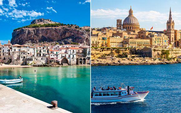 Combinado Sicilia y Malta con coche