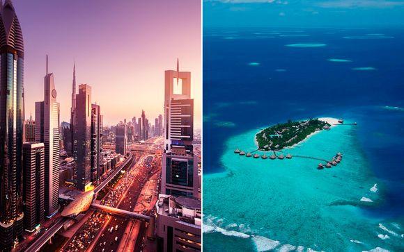 Maldivas Male Combinado Sheraton Dubai 5* y Adaaran Hudhuranfushi 4* desde 1.860,00 €