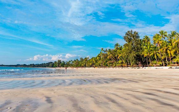 Extensión a la playa de Ngapali
