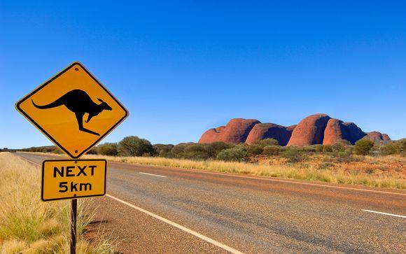 Explorando Australia con extensión opcional a Melbourne