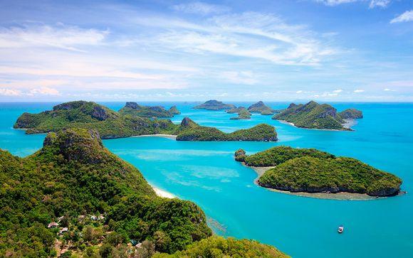 Combinado: JW Marriott Bangkok 5* y Sea Dance Resort 4*