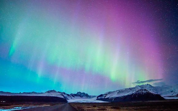 Tour Luces el Norte y espectáculo del planetario Luces del Norte