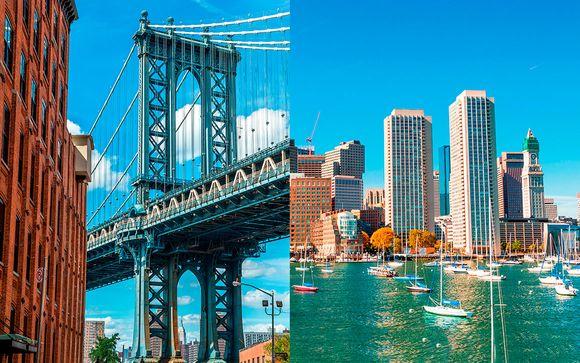 Dos ciudades vibrantes entre rascacielos