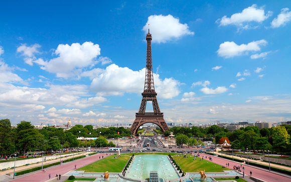 Sublime estancia junto a la Torre Eiffel