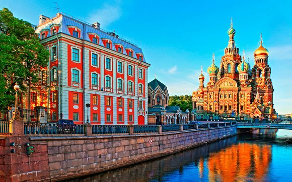 Rusia Moscú - Crucero fluvial de San Petersburgo a Moscú desde 1.177,00 €