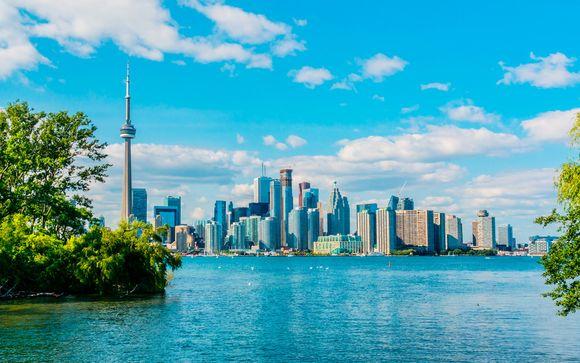 Camino canadiense con opción a Nueva York