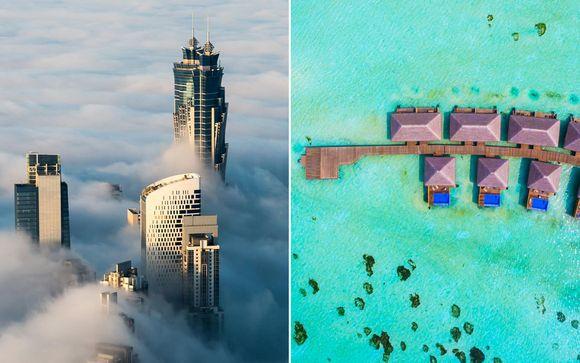 Emiratos Árabes Unidos Dubái  Combinado JW Marriott Marquis 5* y Cocoon Maldives 5*  desde 2.60...