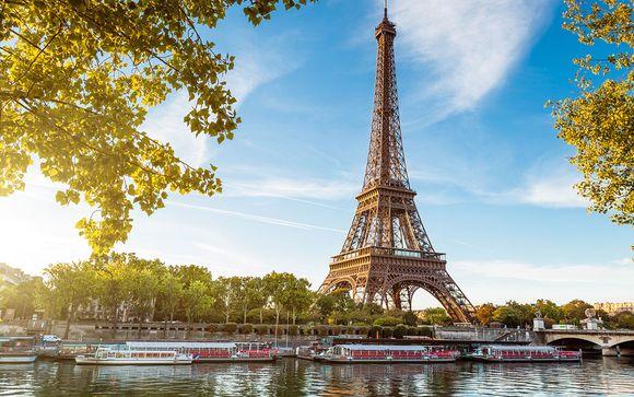 La magia de París desde lo alto de Montmartre