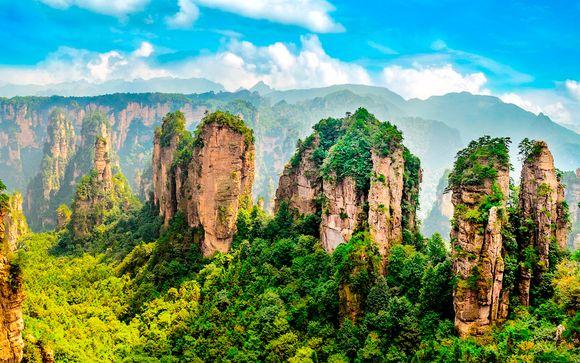 Tour por China y la Montaña Aleluya de Avatar