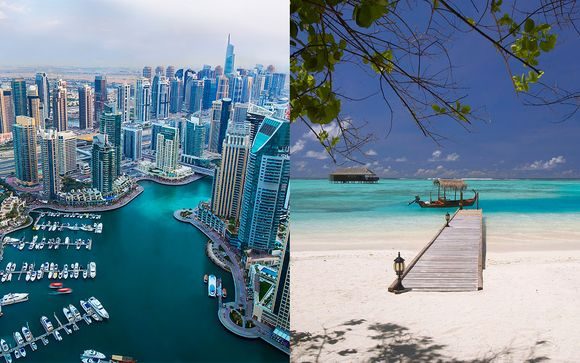 Crowne Plaza Dubai Festival City 5* y Medhufushi Island Resort 4*