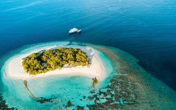 Crucero excepcional en Maldivas y posible extensión a Dubái